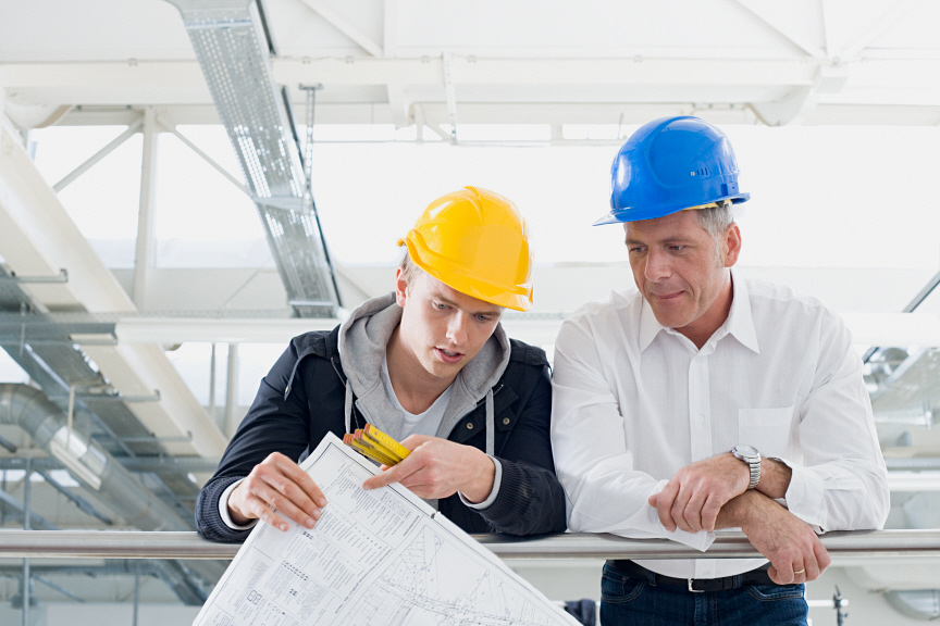 Architect and builder